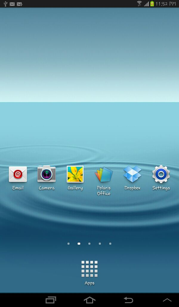 Update Samsung Galaxy Tab 2 7 0 P3100 to Android 4 1 Jelly Bean