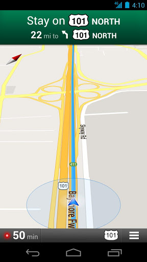 GPS Android aplication Maps
