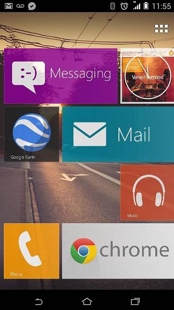 Windows Phone 8 Launcher APK for Android