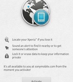 myXperia smartphone