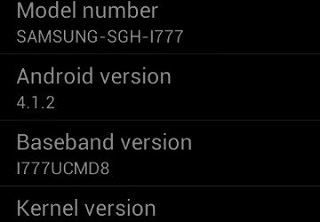 Android 4.1.2 Jelly Bean I777UCMD8