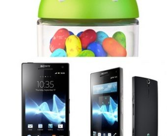 Android 4.1.2 Sony Xperia S and SL