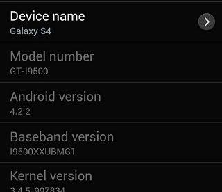 Samsung Galaxy S4 Exynos 5