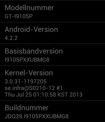 Manually update the Android 4.2.2 Jelly Bean Ota Galaxy S2 Plus