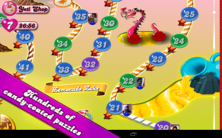 Download Candy Crush Saga for Android 1.21.0.