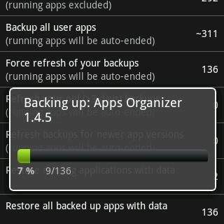 Download Titanium Backup for Android