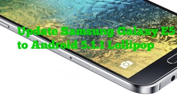 Update Samsung Galaxy E5
