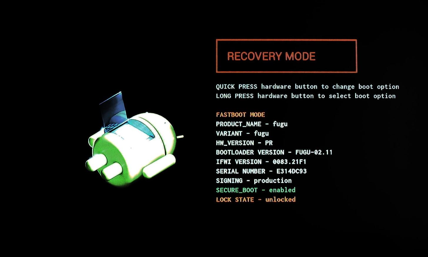 how to boot android phone into recovery mode